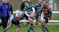 Abbey's backs fail to contain hosts in disappointing derby drubbing