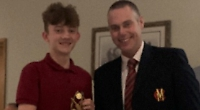 Clubman of the year accolade for Bacon