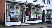 Landlord uses empty shop for climate change protest