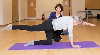 Safe and supportive positions will help you achieve the right balance