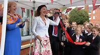 Classical violinist unveils school's new £1.8 million music facilities