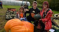 Pumpkin festival proves popular despite downpours