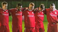 Match raises £2,500 for family of dead police officer