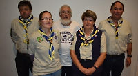 Scouts raise £472 at quiz night after hut arson attack