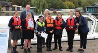 Firm sponsors river trips for SEN children