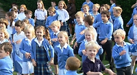 Pupils and parents take part in wellbeing day