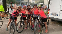 Women's 355km Italian cycle ride for cancer charity