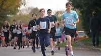 Teenager beats own record in 5km