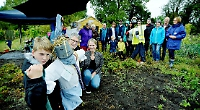 Couple create community garden at village allotments
