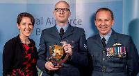 Serviceman honoured