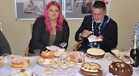 Receptionist and residents in top tier of cake contest
