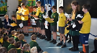 Pupils stage their own election with animal candidates