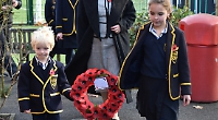 Pupils learn to show their respect