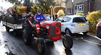 11th year of Remembrance Sunday tractor run between villages