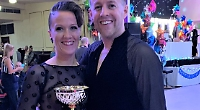 Dancing mum steps back in time with trophy wins