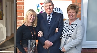 Women honoured for 10 years of service to charity