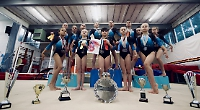 Gymnasts crowned regional and county champions