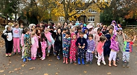 Pupils wear pyjamas for Children Need