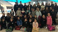 Swimmers spend day at aquatic centre