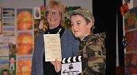 Boy's 'bedroom battle' wins prize