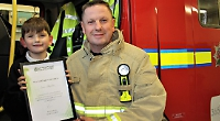 Firefighter who still loves the job after 25 years