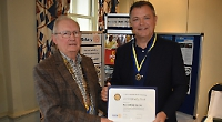 Charity supporter awarded Rotary's highest honour