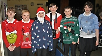 Elderly return in numbers for school's Christmas lunch and entertainment day