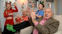 Developer's festive party for retirees