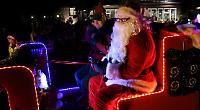 Village Santa tour raises £1,500