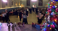 Learn ballroom and Latin with us at the town hall