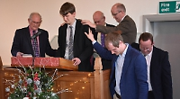 Church welcomes new pastor after 18-month wait