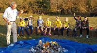 Brownies learn about countryside ways with farm visit