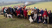 13th New Year's Day walk goes ahead without founder