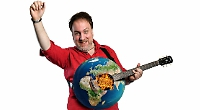 Songwriting satirist is saving the world one ditty at a time