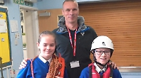 Pupils sign up for expedition