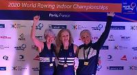 World Indoor Championship gold for Upper Thames trio