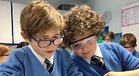 'Outstanding' school where more able and talented thrive