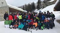 No panic after school ski trip to virus zone