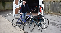 University student collects old bikes to help communities in Africa