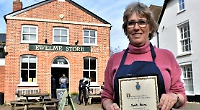 Award for woman behind village's community shop