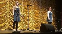 Star performers at the festival Variety show — by Scarlett Hyde