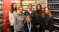 Young writers scoop prizes in record-breaking competition