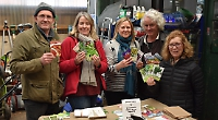 Gardeners get together to swap veg seeds and chat