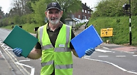 Pedestrian crossing installed after 10-year campaign