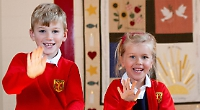 Dynamic school where pupils feel they are valued