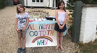 Girls make £175 for NHS selling homemade gifts to friends