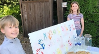 Neighbours to the rescue after charity money stolen