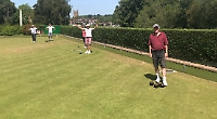 Henley bowlers back on green after restrictions eased