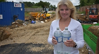 Mum to rescue after builder cuts off village water supply