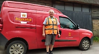 Villagers surprise postie with gifts for long service